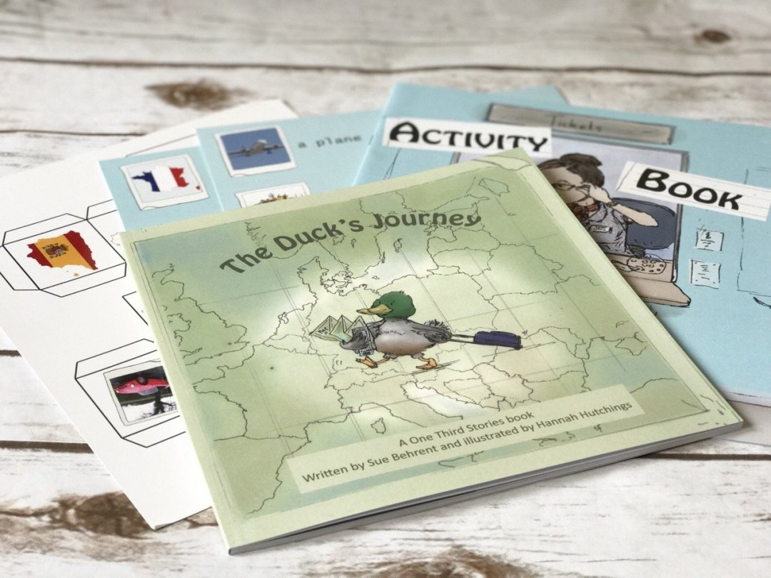 One Third Stories Book and activity pack