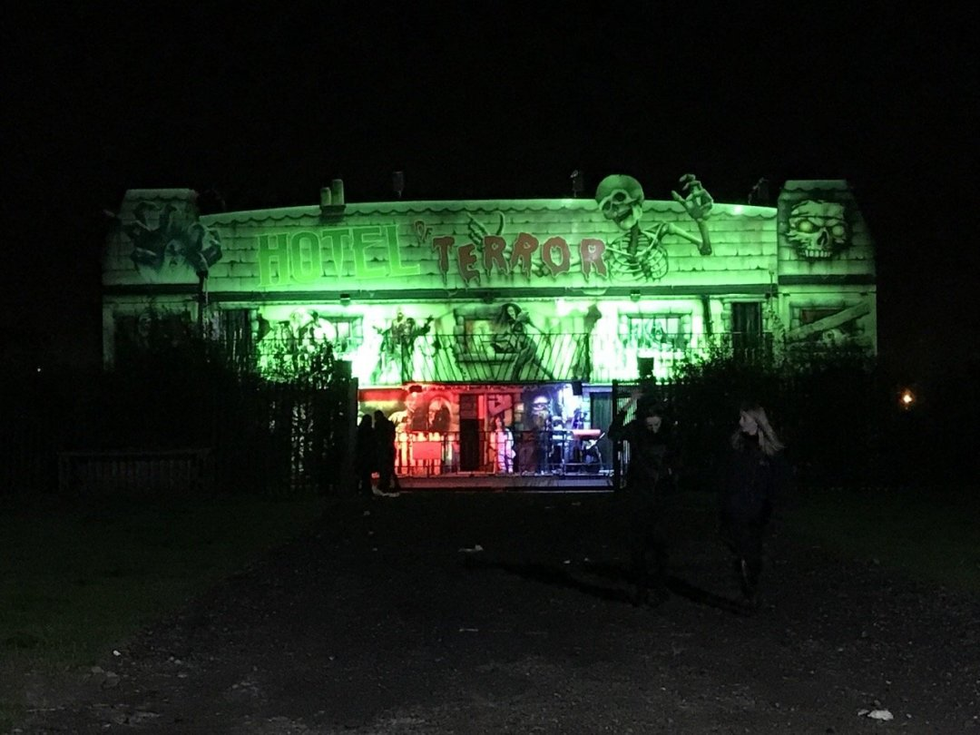Spooky Nights at Barleylands Terror hotel