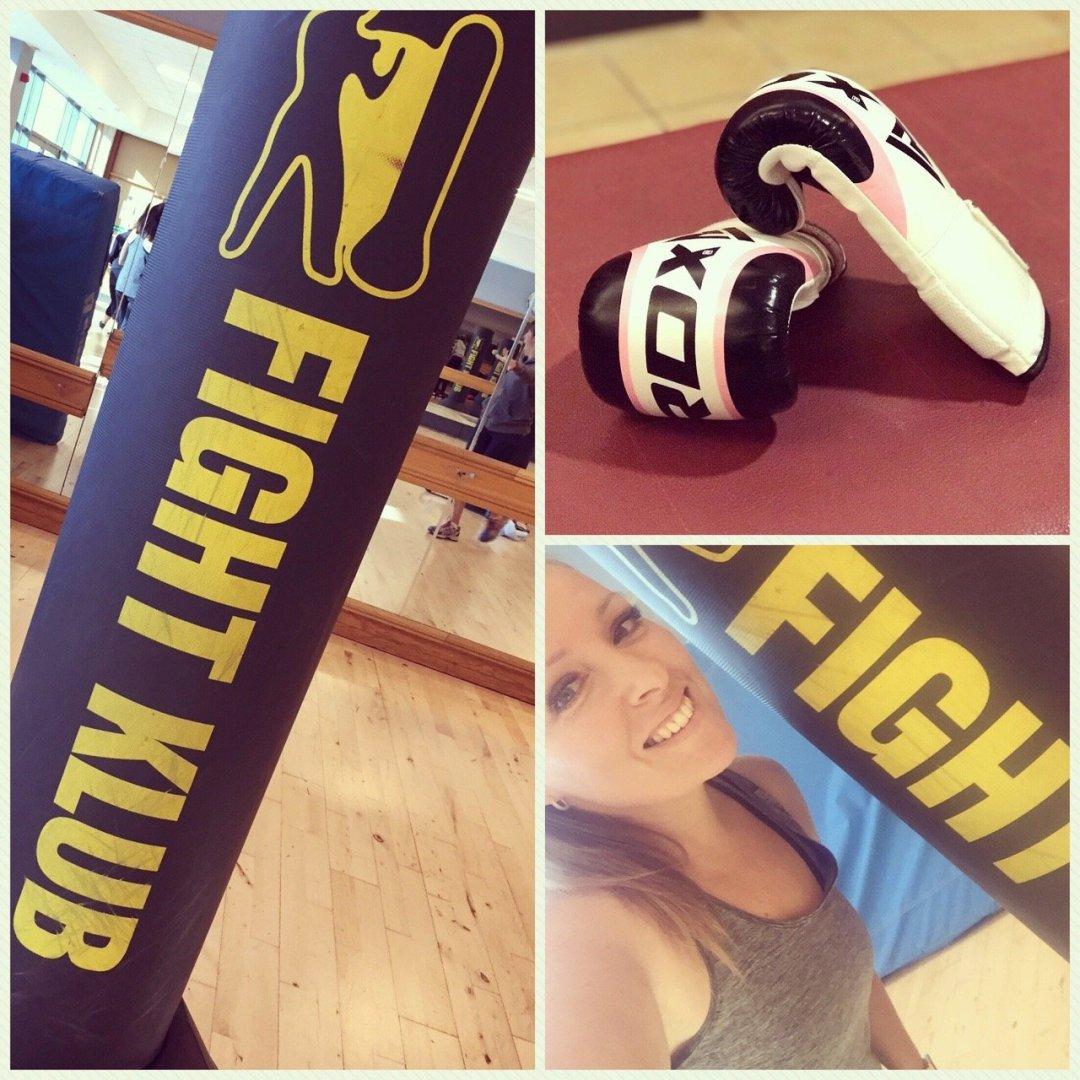 Family Gym Time - David Lloyd fight klub