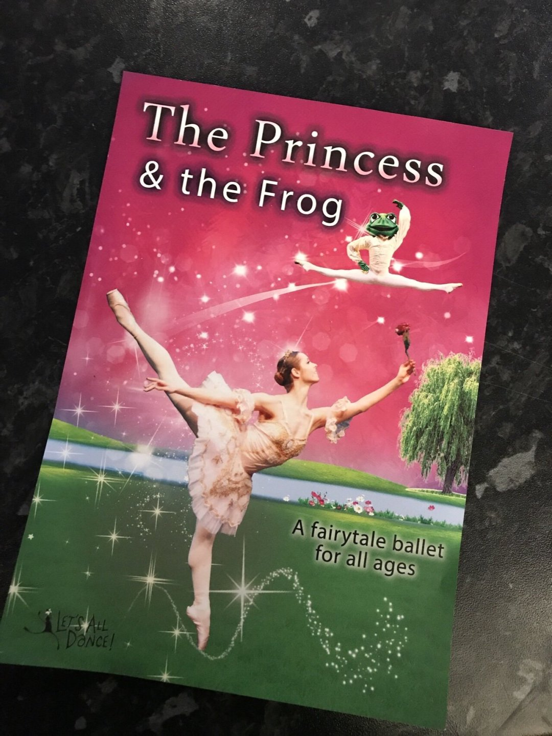The princess and the frog first ballet