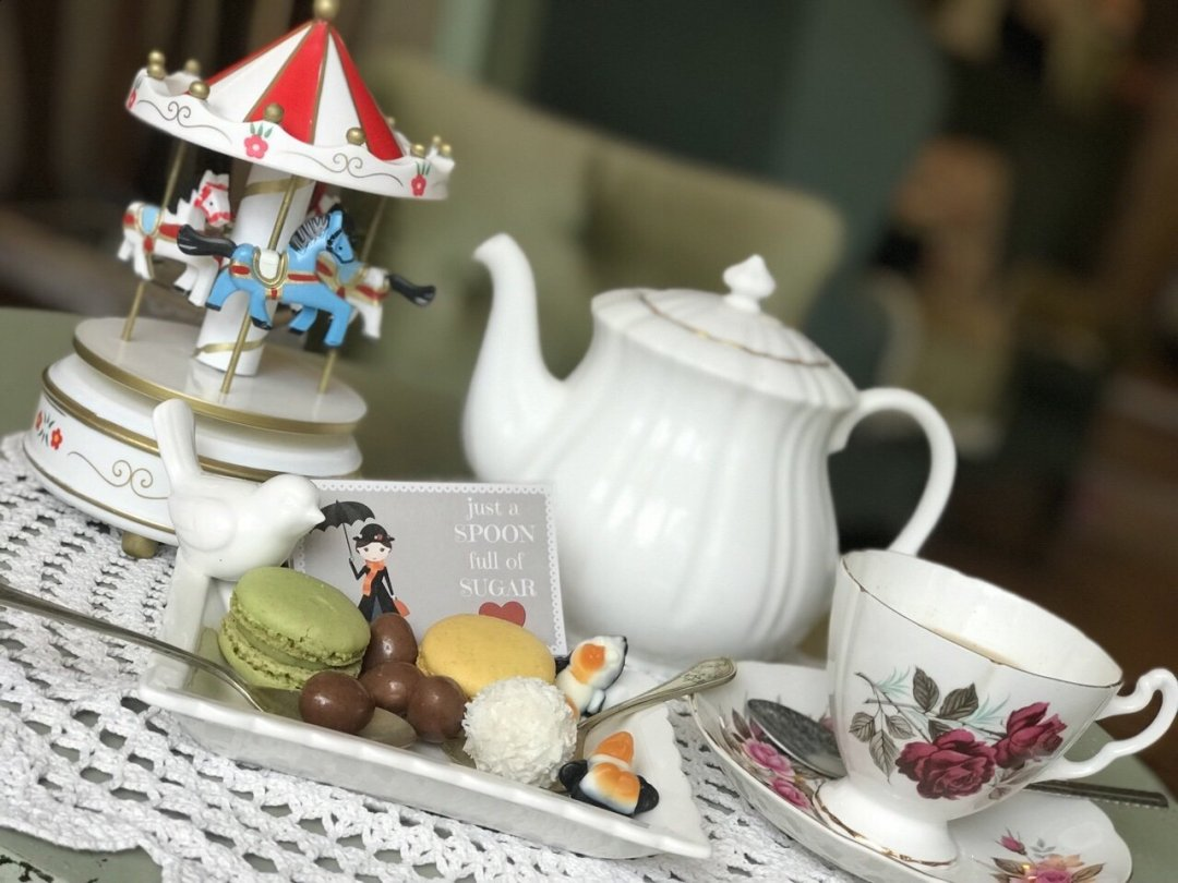 Spoonful of sugar Mary Poppins Themed Afternoon Tea