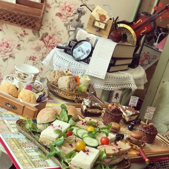 instagram Sherlock Holmes Themed Afternoon Tea
