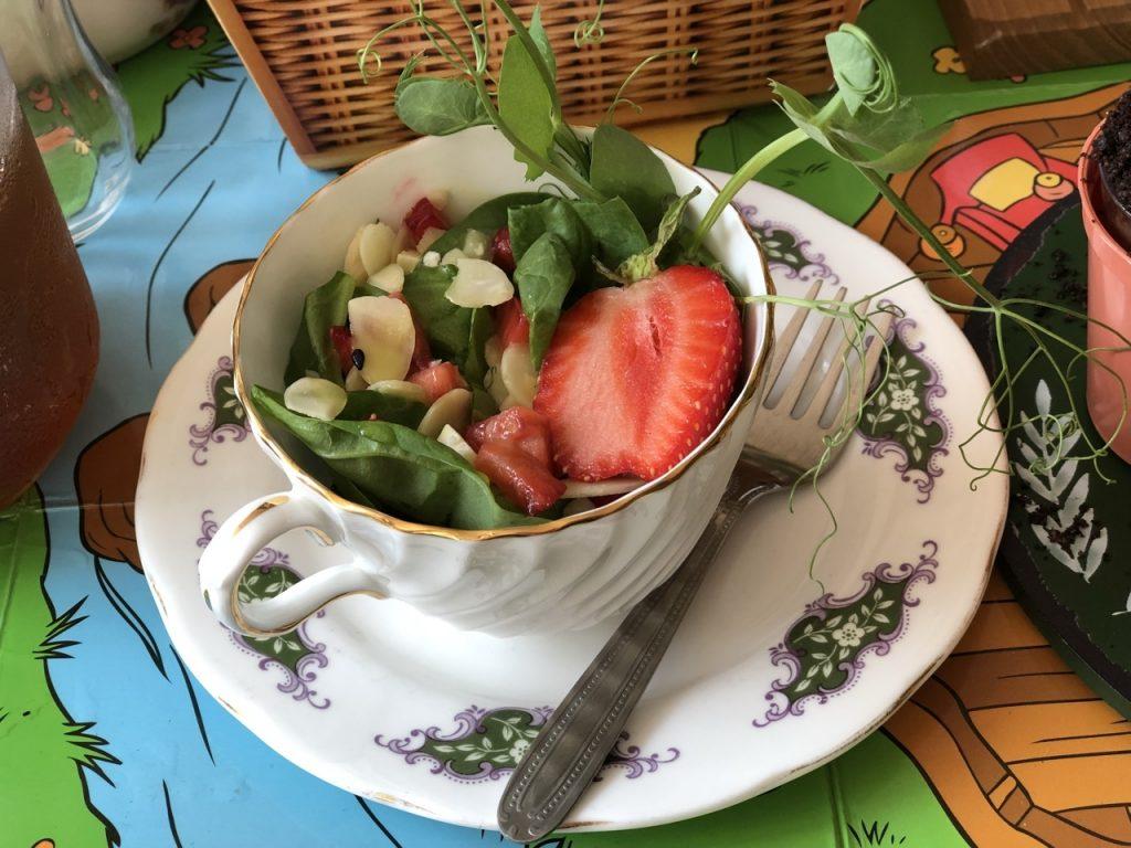 Tea cup salad winnie the pooh afternoon tea