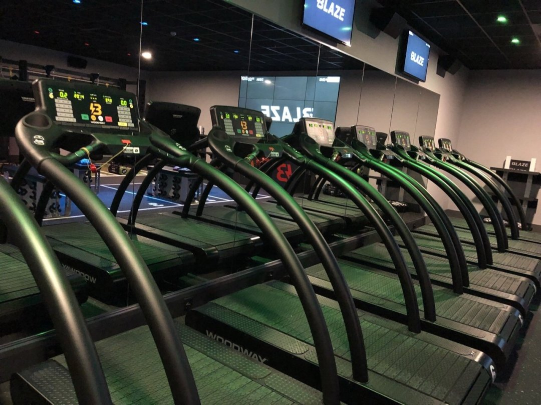 Treadmills at David Lloyd Blaze