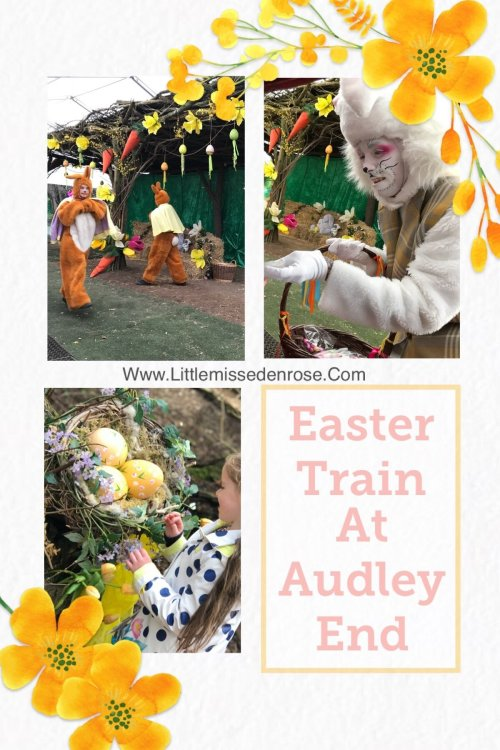 Easter Train at Audley End Miniature Railway review by Essex blogger www.littlemissedenrose.com