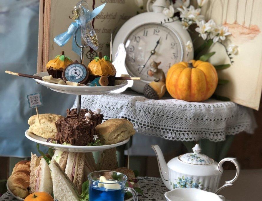 Cinderella themed afternoon tea in Essex