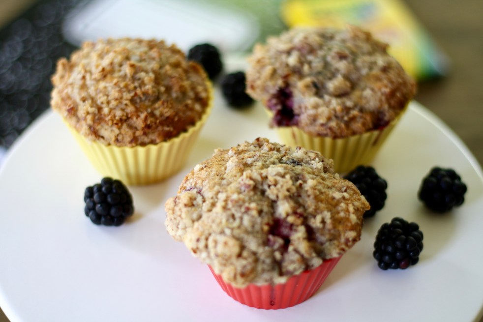Blackberry Muffins 2.0