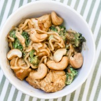 Cashew Chicken & Broccoli Stir-Fry