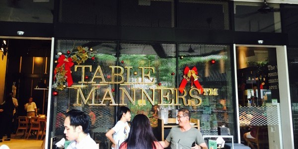 FOOD DISCOVERIES: TABLE MANNERS