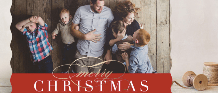 CHRISTMAS CARDS FOR FAMILY & FRIENDS FROM MINTED