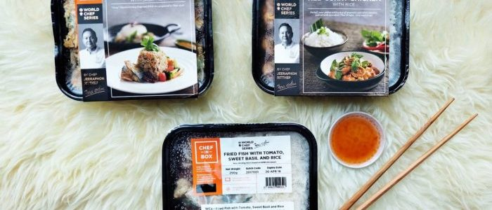 CHEF-IN-BOX: GOURMET DISHES CONVENIENTLY-ACCESSIBLE FOR BUSY URBAN FOLKS