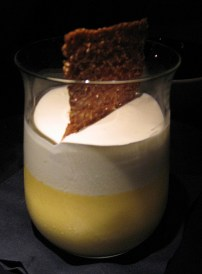 Mango Pudding with Condensed Milk Chantilly