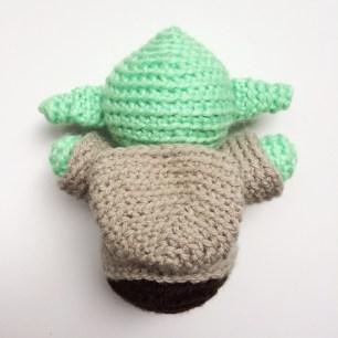 Crochet Yoda