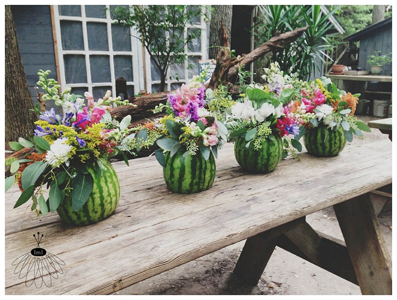 Little Miss Lovely - Watermelon Flower Arrangements (1)