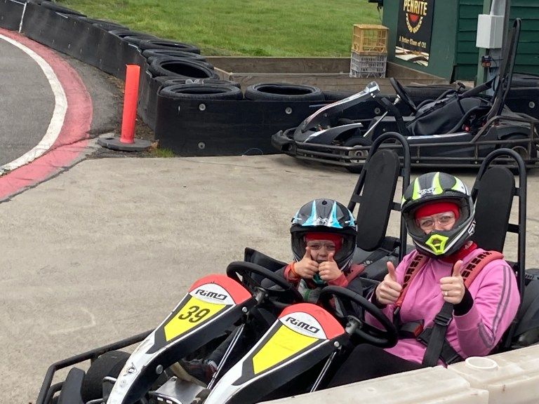 July Challenge Accountability: Trying Go-Karting was the highlight of my Try Something New Challenge.
