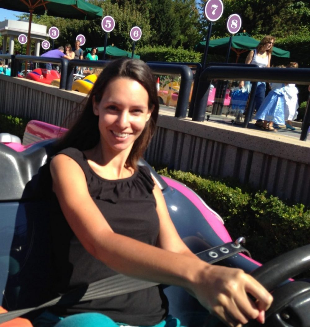 Autopia at Disneyland Paris