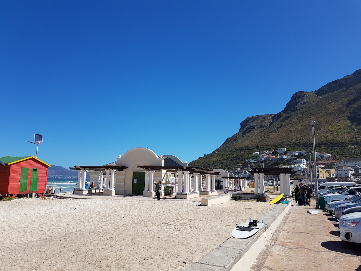 Muizenberg Beach walk