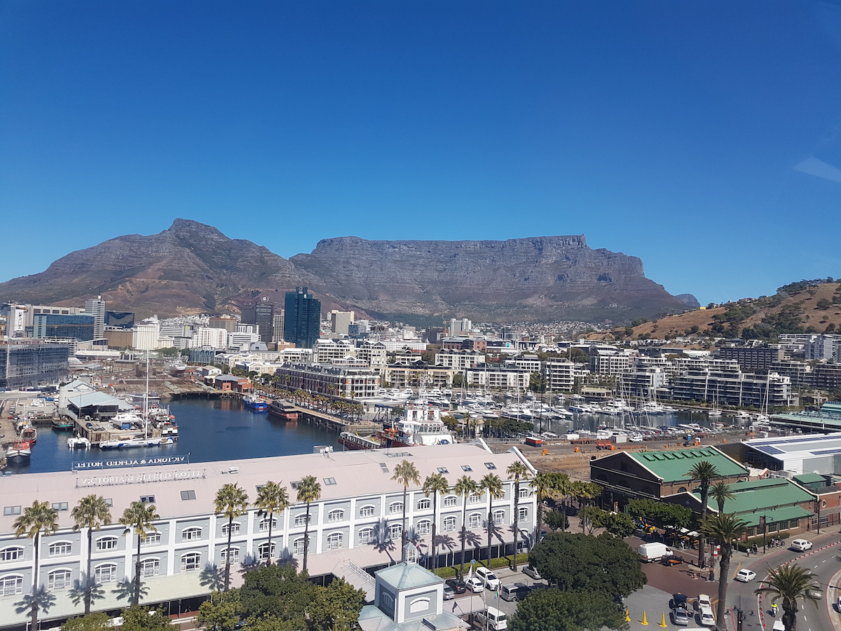 View of V&A Waterfront