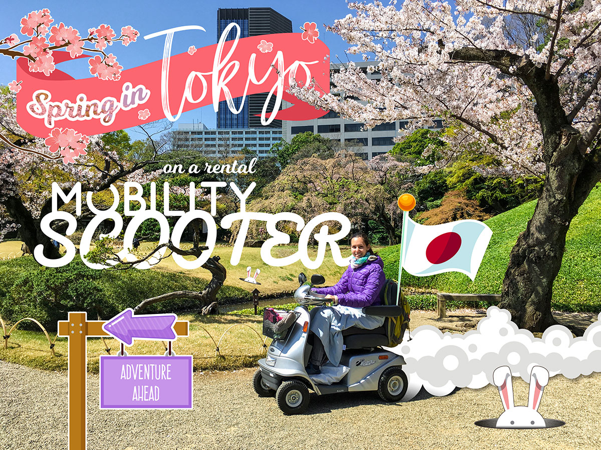 Mobility Scooter Rental Experience in Tokyo - March 2018