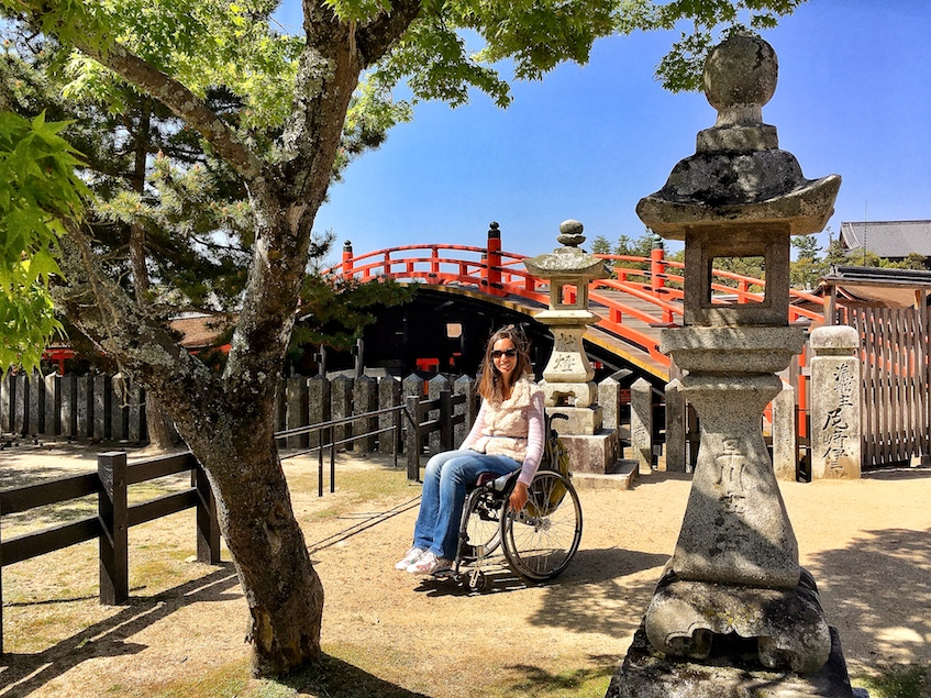 Arched Bridge | Itsukushima Shrine | Little Miss Turtle