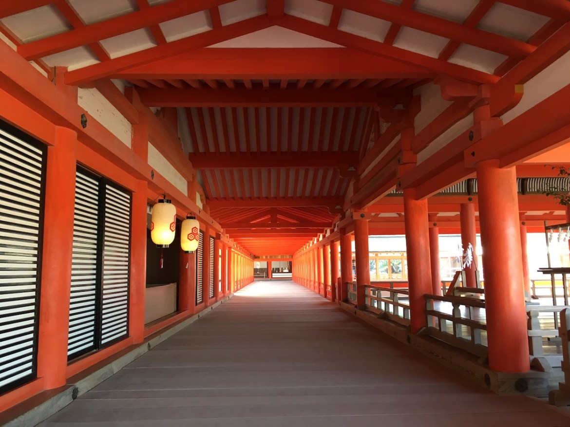 East Corridor of Itsukushima Shrine | Little Miss Turtle