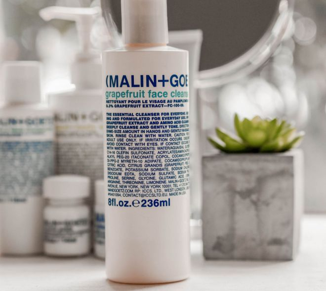 Malin and Goetz Skincare Kate Winney vitamin e cleanser