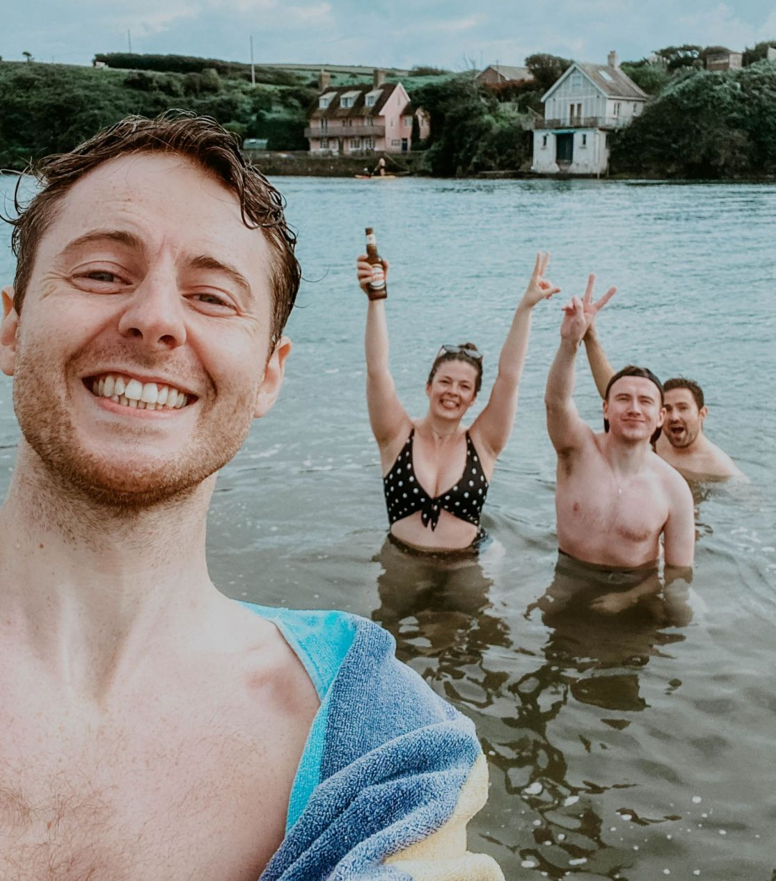 Travel Blog LittleMissWinney Devon Bigbury Coast Cottage cold water swim