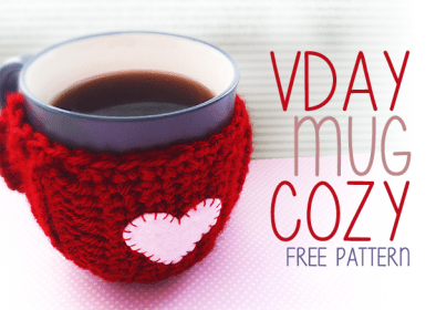 Valentine's Day Mug Cozy
