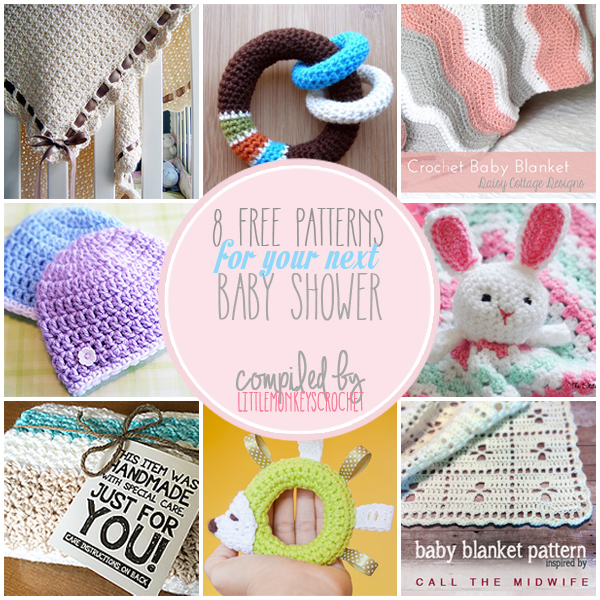 Roundup 8 Free Patterns For Your Next Baby Shower Little Monkeys