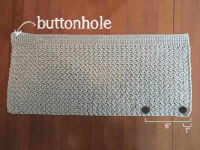 Sparkly Buttoned Cowl | Free Crochet Pattern by Little Monkeys Crochet