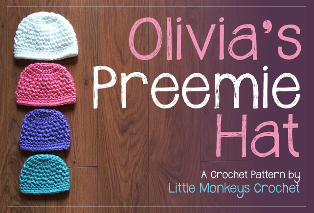 The 12 Days Of Christmas Nicu Hat Challenge Olivias Preemie Hat