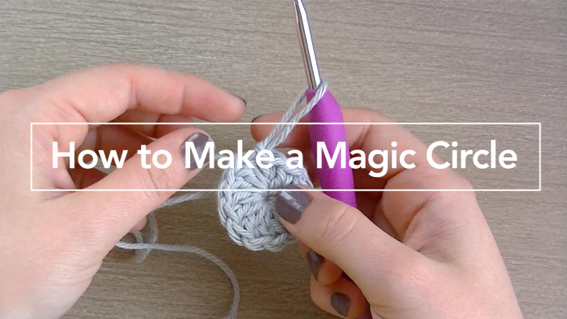 How learn to finger crochet