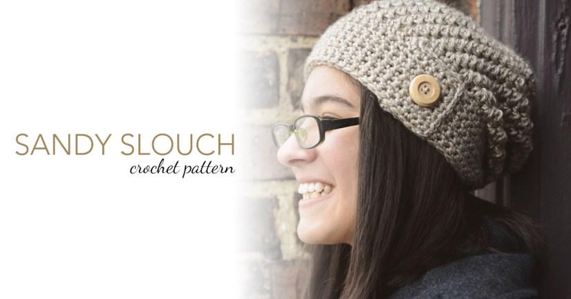 Sandy Slouch Hat & Cowl Set | Free Patterns by Little Monkeys Crochet