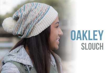 Oakley Slouch Hat Crochet Pattern  |  Free slouchy hat crochet pattern by Little Monkeys Crochet