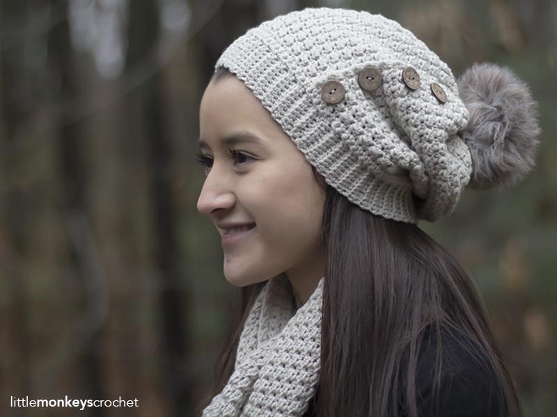 a0d29e32a69 Elena Slouch Hat Crochet Pattern