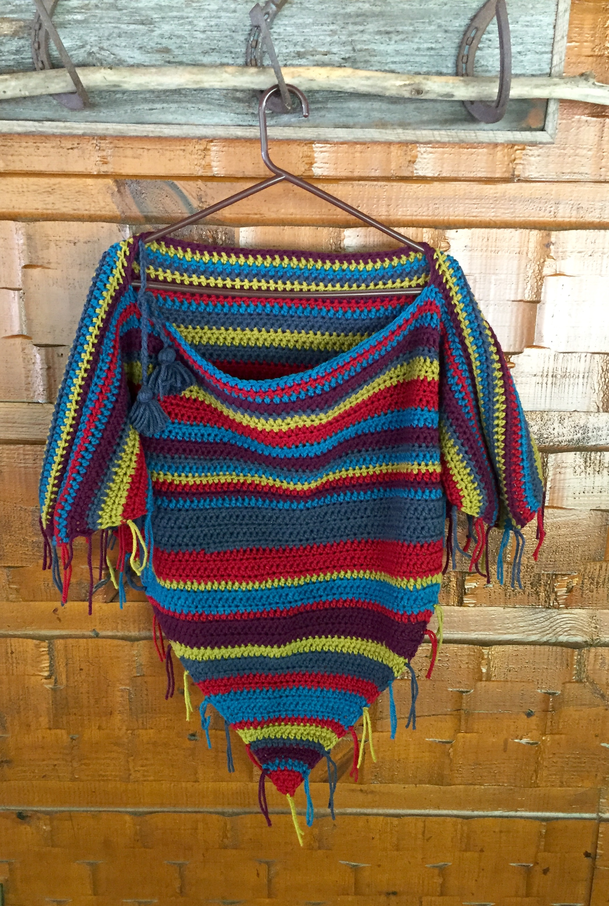 Gypsy Poncho Crochet Pattern Little Monkeys Design