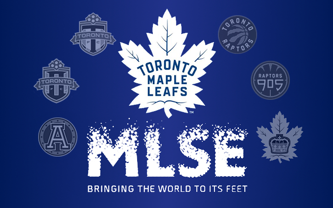 MLSE LEAFS card with logos