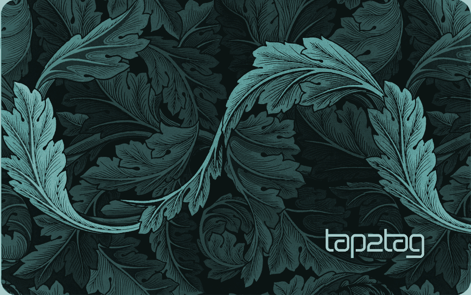 Tap2Tag Connect Pale Green Back copy