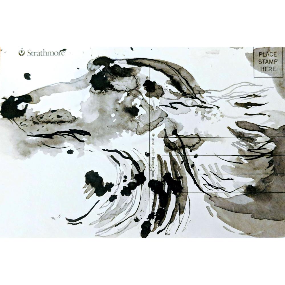 Ralph Steadman Ink Blot Dog