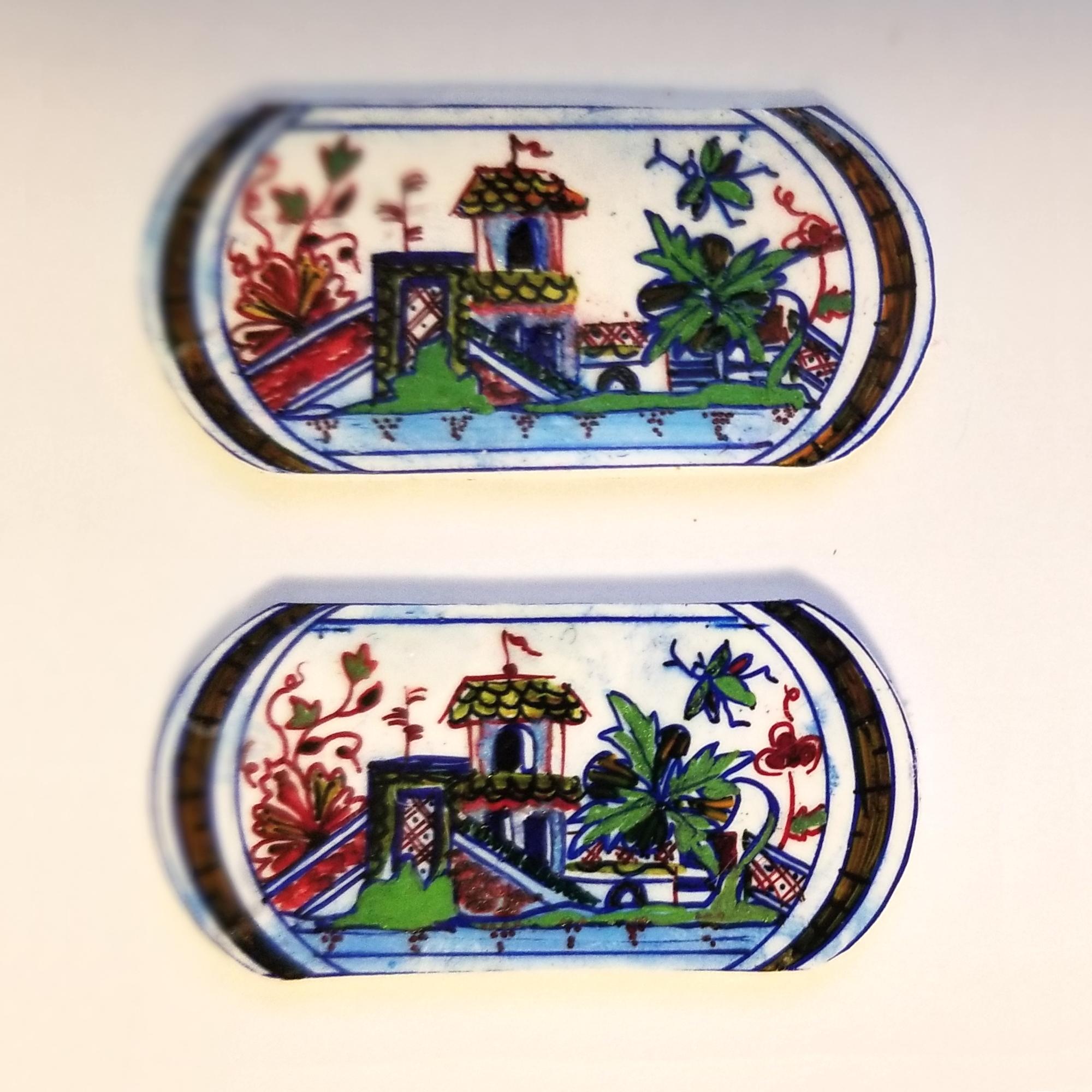 Jean Baptiste Guilliaud manufacture Gardiner Museum Earring mini set 1