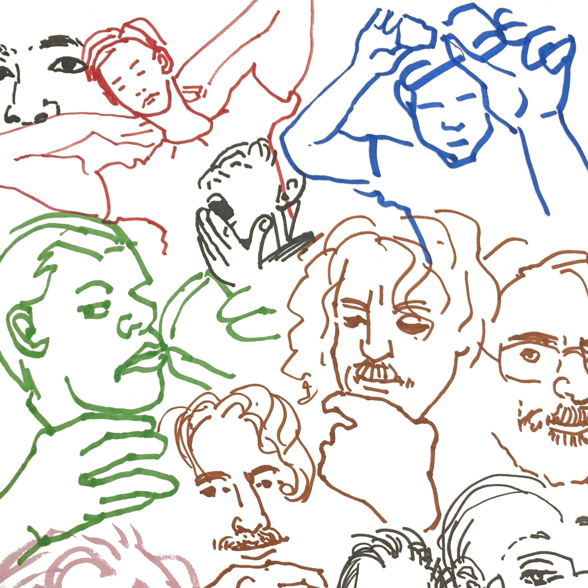 One Minute Portraits - Anthony Yawns
