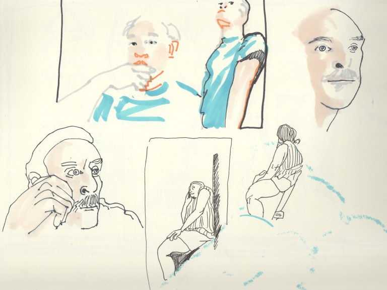 Collective Two Minute Drawings