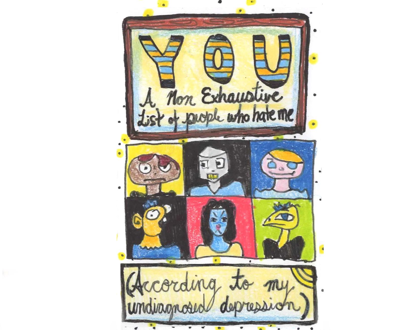 YOU pocket zine by Nicole Little