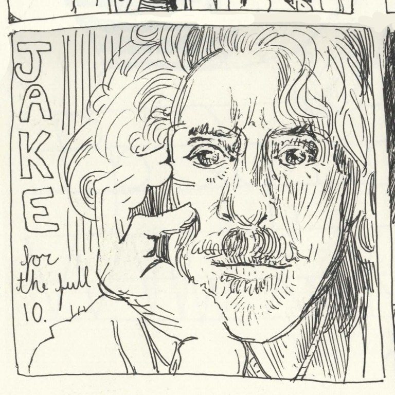 Comic Panels for the Collective - 10 Minutes of Jake