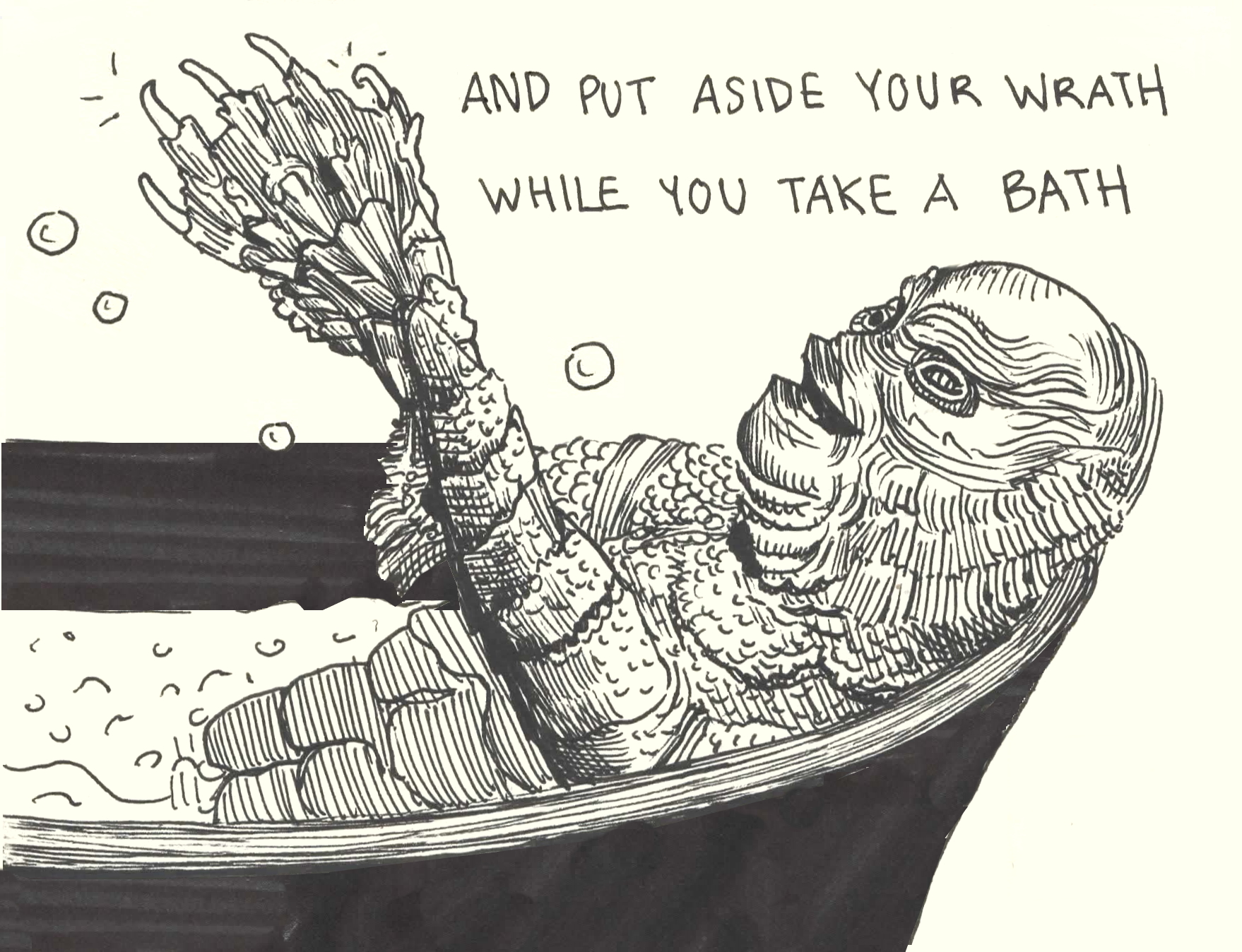 Page 6 7 Rest for the Wicked Creature from the Black Lagoon