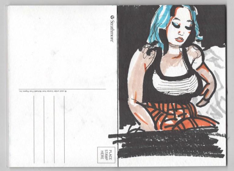 Postcard Ten Kim