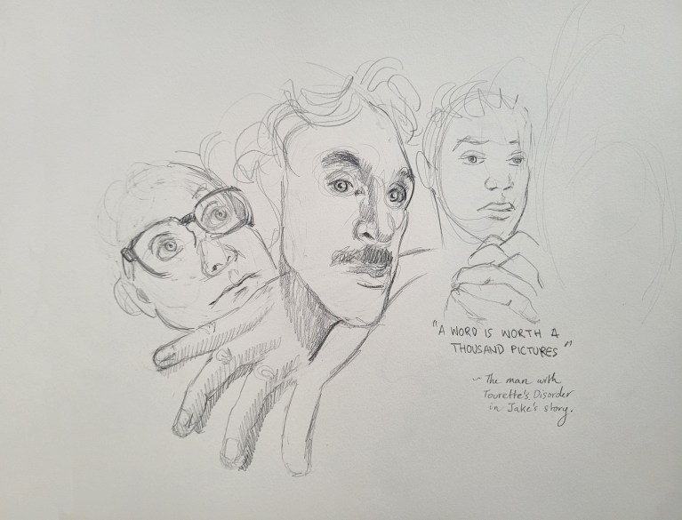 Two and Five Minute Portrait - Composition Rule of Three