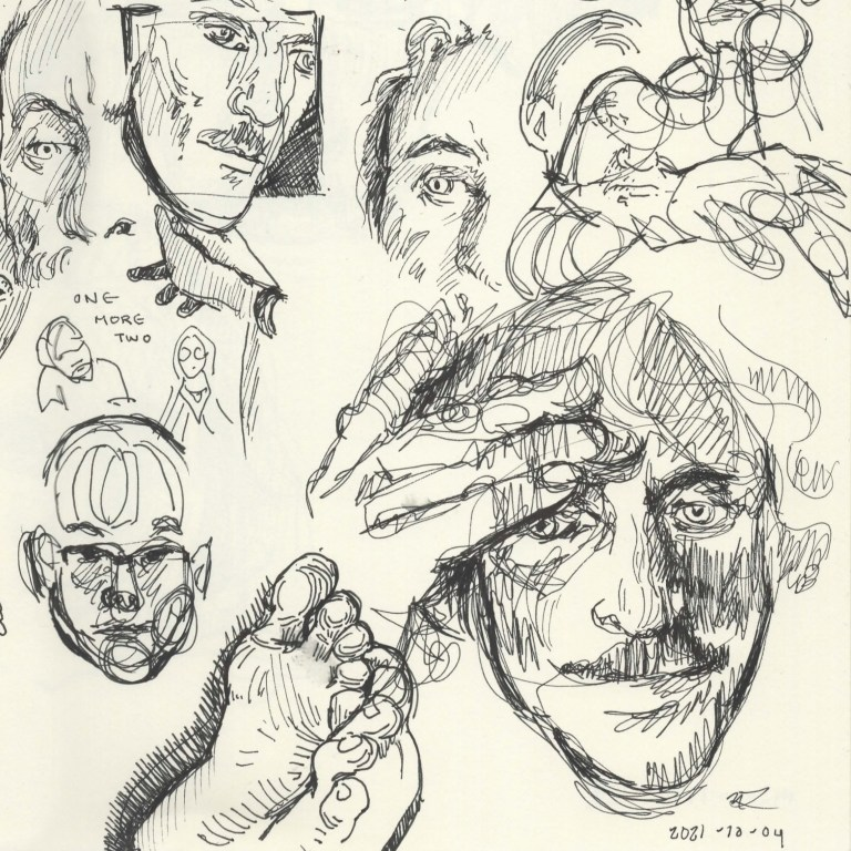 quick sketches examples of portraits