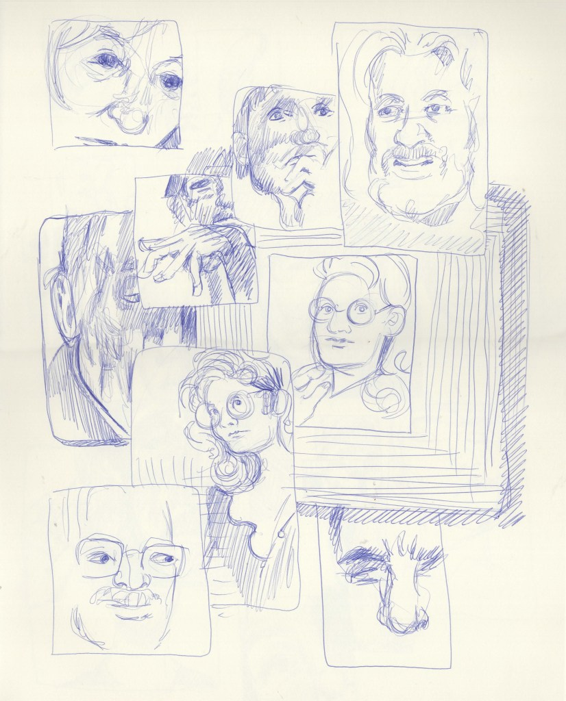 Toronto Collective Drawing Two Minute Panels
