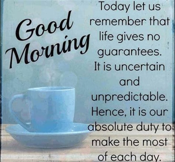 28 Amazing Good Morning Quotes and Wishes with Beautiful Images 28